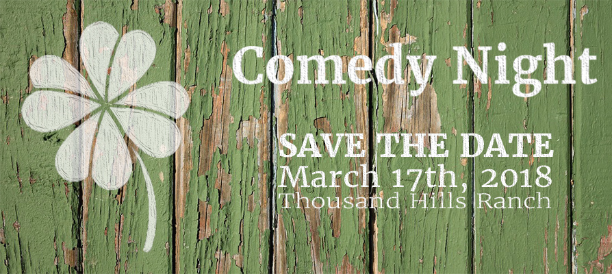 comedy night save the date