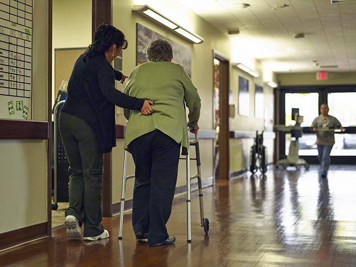 acute rehab patient