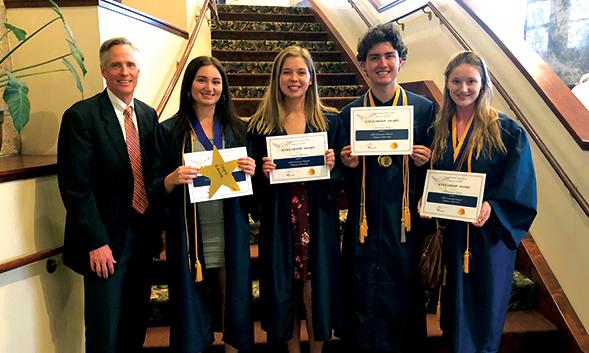volunteen scholarship recipients